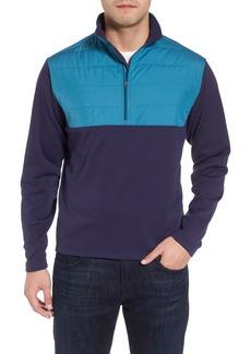 Peter Millar Sheffield Hybrid Half Zip Pullover