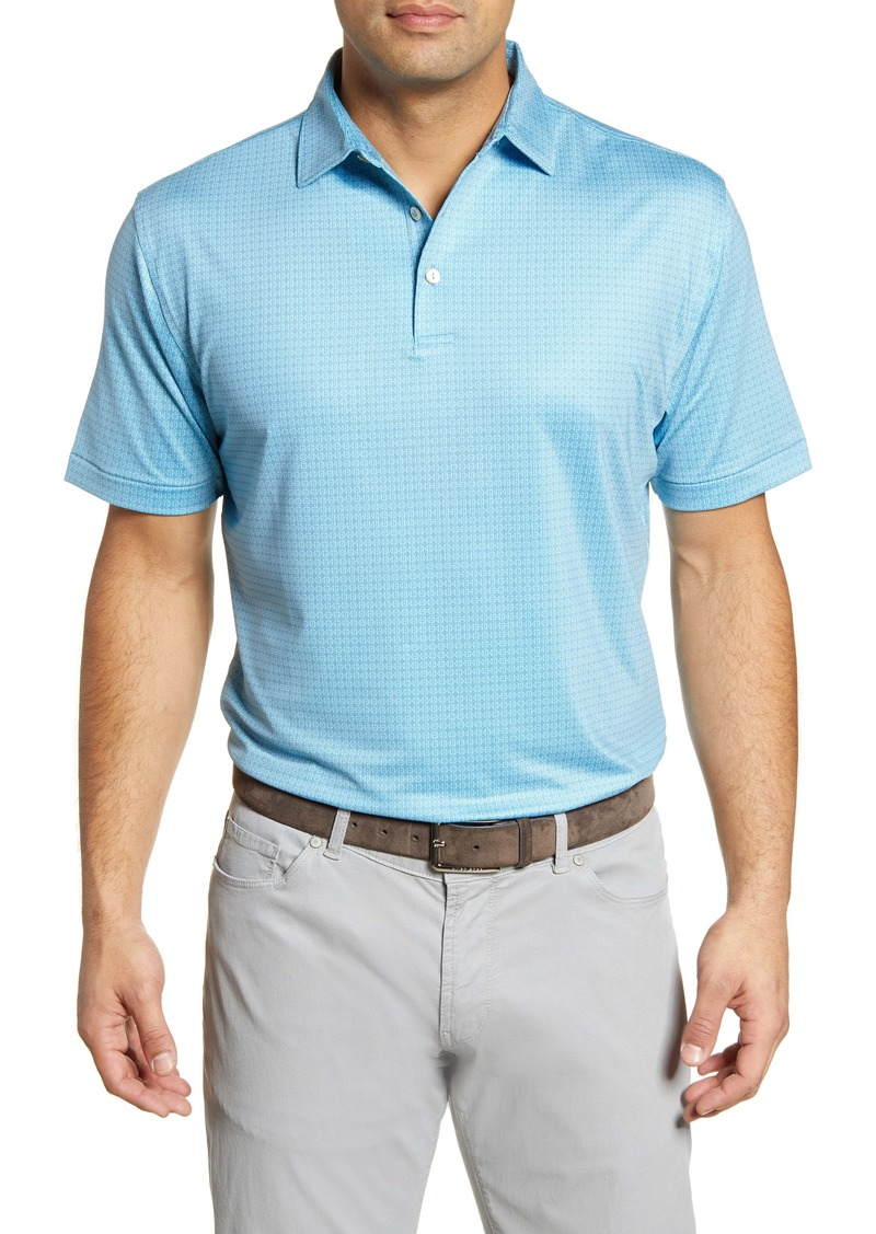 Peter Millar Spanish Tile Stretch Jersey Polo
