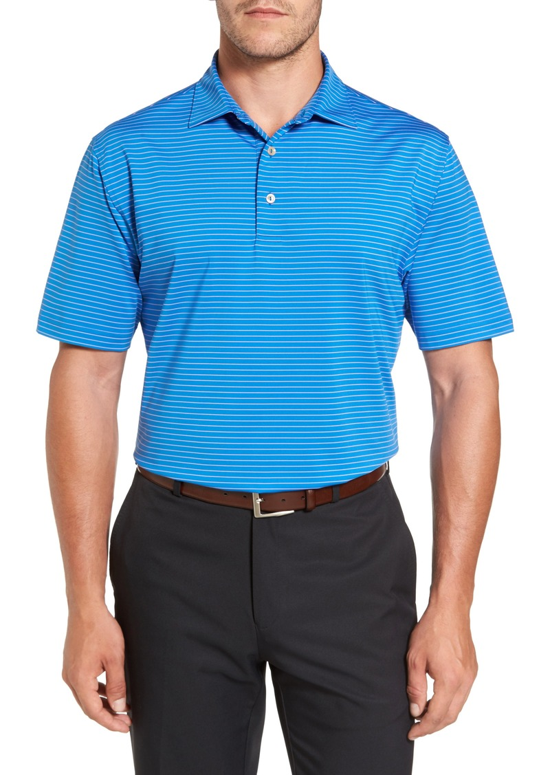 Peter millar peter millar stripe polo casual shirts for Peter millar polo shirts