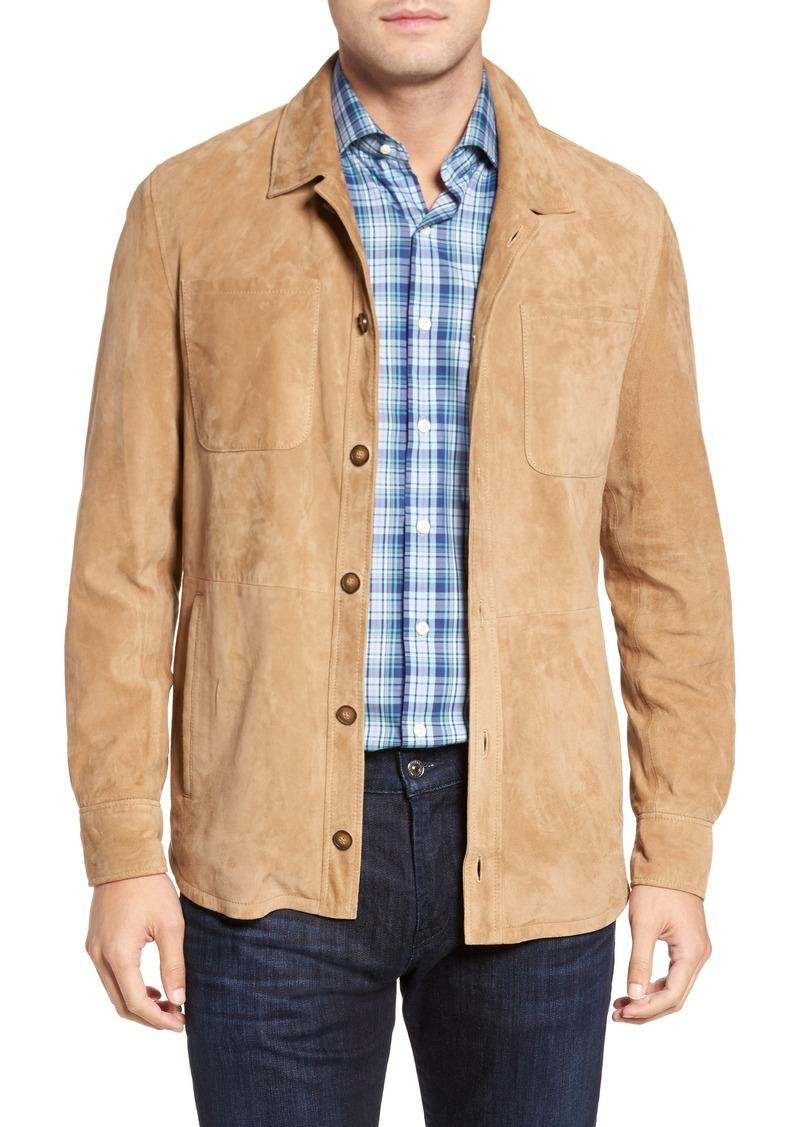 210cfe3eb Peter Millar Peter Millar Suede Shirt Jacket | Outerwear