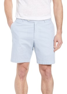 Peter Millar Summer Pinstripe Flat Front Shorts