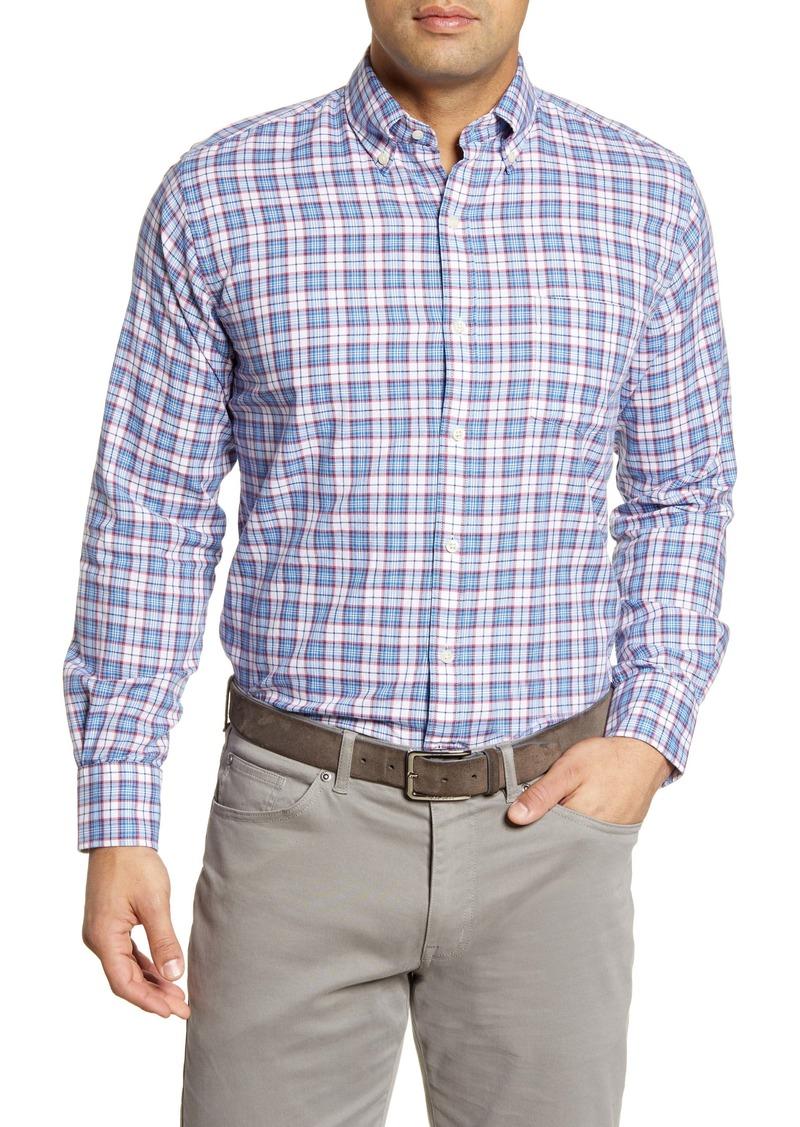 Peter Millar Tamarama Regular Fit Plaid Button-Down Shirt