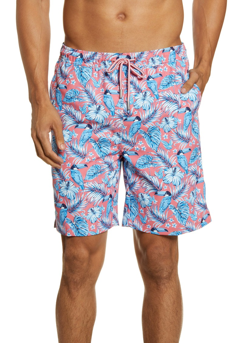 Peter Millar Toucanopy Swim Trunks