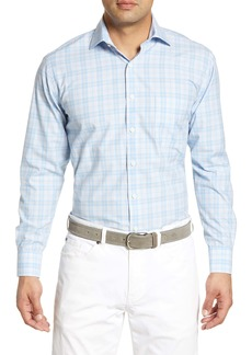 Peter Millar Tuesday Large Regular Fit Plaid Shirt