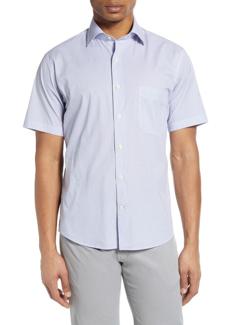 Peter Millar Tybee Breeze Short Sleeve Button-Up Shirt