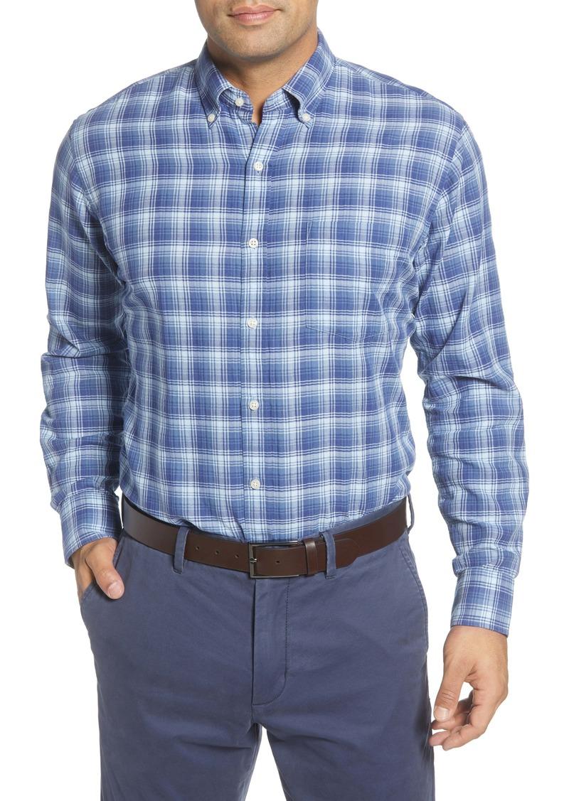 Peter Millar Walter Peak Regular Fit Plaid Button-Down Shirt