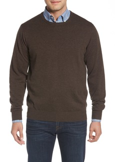 Peter Millar Wool & Cotton Crewneck Sweater