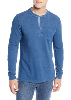 Peter Millar Seaside Cotton Henley Shirt