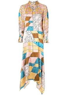 Peter Pilotto geometric print maxi dress
