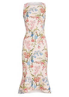 Peter Pilotto Kia Cady Floral Dress