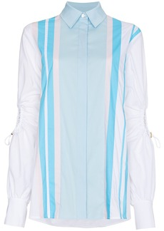 Peter Pilotto Cotton shirt with exposed elbows