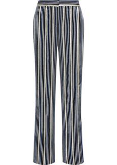 Peter Pilotto Woman Metallic Jacquard Wide-leg Pants Multicolor