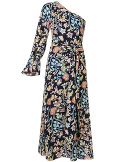 Peter Pilotto printed one shoulder dress