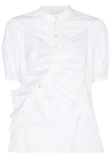 Peter Pilotto puff-sleeve ruffle detail blouse