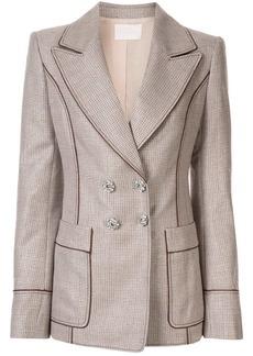Peter Pilotto slim fit lurex blazer