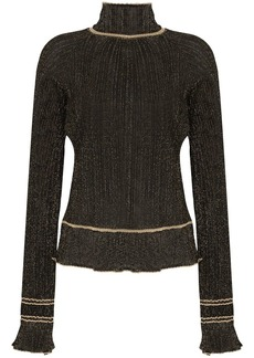 Peter Pilotto pussy-bow sheer blouse
