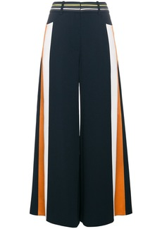 Peter Pilotto Striped culottes with contrasting waistband