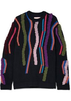 Peter Pilotto Wool-blend Jacquard Sweater