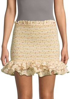 Petersyn Barrett Ruffle Skirt