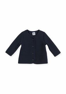 Petit Bateau Cotton-Blend Knit Cardigan
