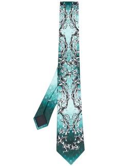 Philipp Plein baroque-pattern print silk tie