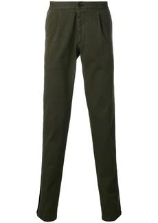 Philipp Plein contrast trim chino trousers