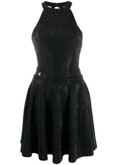 Philipp Plein crystal embellished mini dress