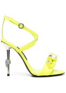 Philipp Plein crystal-embellished stiletto sandals