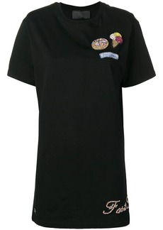 Philipp Plein crystal embellished T-shirt