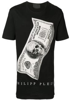 Philipp Plein Dollar round neck T-shirt