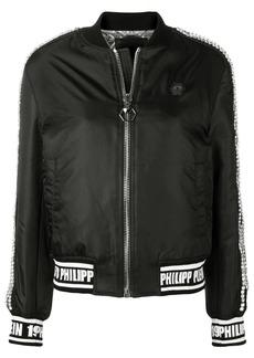 Philipp Plein embellished bomber jacket