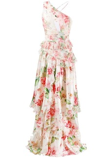Philipp Plein floral day dress