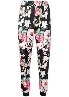 Philipp Plein floral print trousers