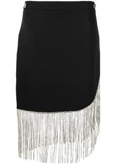 Philipp Plein fringed mini skirt