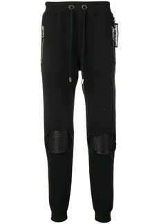 Philipp Plein knee patch track trousers