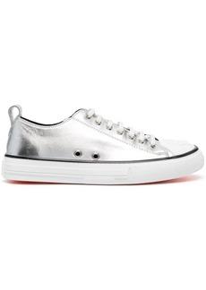 Philipp Plein laminated Megastar sneakers