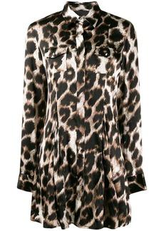 Philipp Plein leopard print blouse