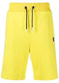Philipp Plein logo drawstring shorts