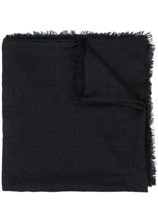 Philipp Plein logo-embellished scarf