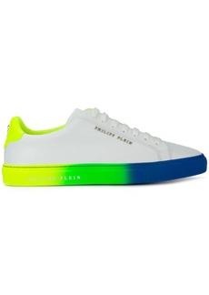 Philipp Plein painted lo-top sneakers