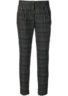 Philipp Plein Pinstripe Plein trousers