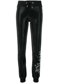 Philipp Plein Plein crystal embellished track pants