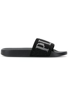 Philipp Plein Plein Crystal sandals