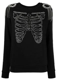 Philipp Plein sequinned skeleton sweatshirt