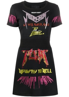 Philipp Plein Simply Rock dress