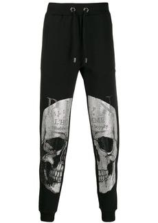 Philipp Plein skull drawstring track trousers