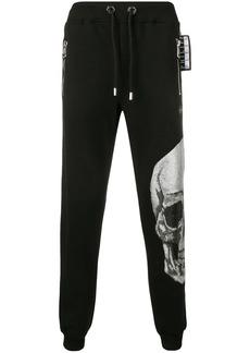 Philipp Plein skull embellished track pants