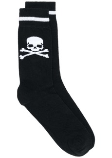 Philipp Plein Skull knit socks
