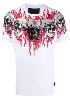 Philipp Plein skull-print crew neck T-shirt