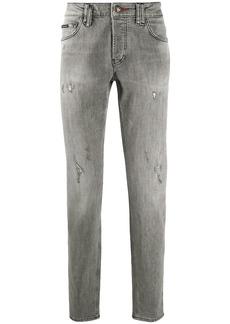 Philipp Plein Skull straight cut jeans